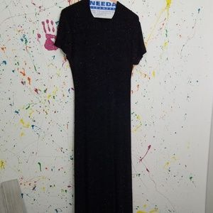 Nice black with sparkles dress
